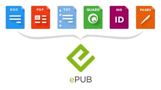 ePub eBook conversie